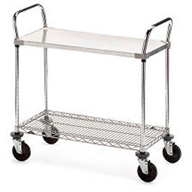 Metro® Galvanized Shelf Carts