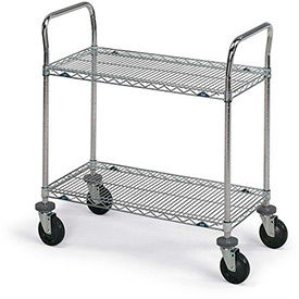 Metro® Super Erecta® Stainless Steel Wire Shelf Carts