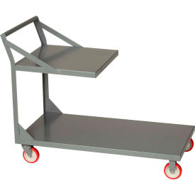 Little Giant® Steel Platform Trucks with Top Shelf