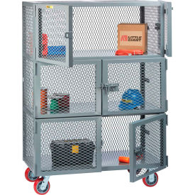 3 Compartment Mobile Storage Lockers