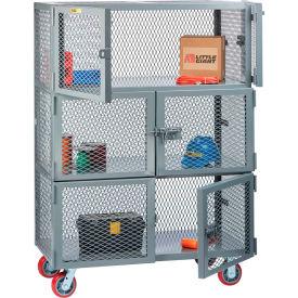 3 Compartment Mobile Storage Lockers