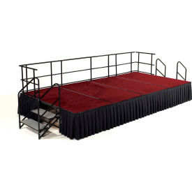 National Public Seating® Carpeted Stage Package