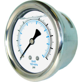 PIC Gauges Stainless Steel Glycerine Filled Pressure Gauges