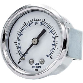PIC Gauges U-Clamp Panel Mount Pressure Gauges