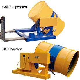 Chariot élévateur camion tambour transporteurs & rotateurs