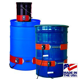 Steel & Silicone Rubber Drum & Pail Heaters