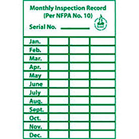 Inspection Tags