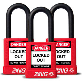 Zing Green Lockout Padlocks