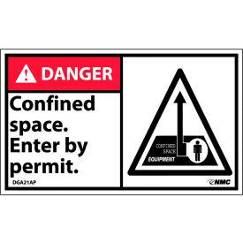 Étiquettes d'espace confinées