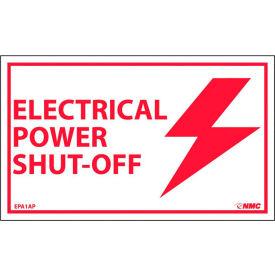 Étiquettes d'équipement électrique