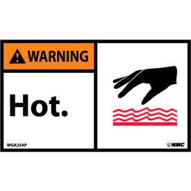 Hot Surface, Temperature & Work Labels