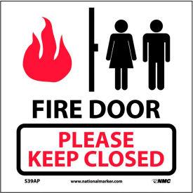 Étiquettes d'incendie de sécurité