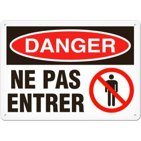 French Caution, Notice & Safety First Signs