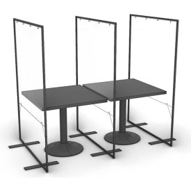 Marketing Impact Limited Floor Supported Portable Shield Partition
