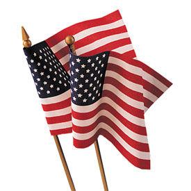 Annin® - aucune Fray Hand Held U.S. drapeaux