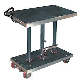 Stainless Steel Hydraulic Post Lift Tables