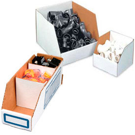 Corrugated Cardboard Shelf Bin Boxes