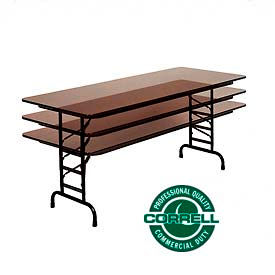 Height Adjustable Folding Tables