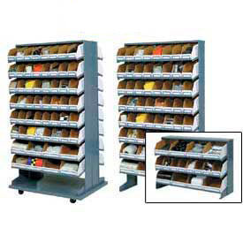 Pick Rack With Corrugated Shelf Bins
