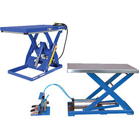 Vestil Air-Powered Scissor Lift Tables