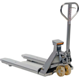 Stainless Steel Pallet Jack Scale Truck
