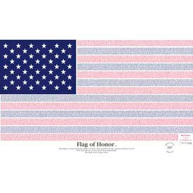 Annin® - 11 septembre du pavillon d'honneur / drapeau du héros