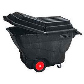 Rubbermaid® mousse structurelle camions de Tilt en plastique - 1 cu Yd. capacité jusqu'à