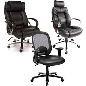 Leather Big & Tall Chairs