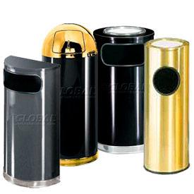 Design métal cendre & poubelles