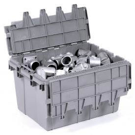 Buckhorn Attached Lid Distribution Containers