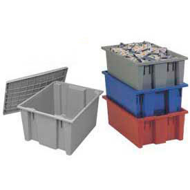 Akro-Mils Nest & Stack Shipping Storage Containers