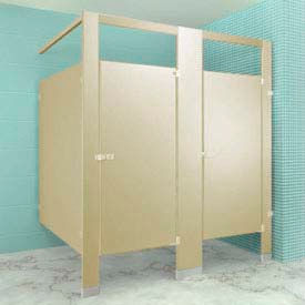 Metpar Overhead Braced Plastic Laminate Toilet Partition Compartments
