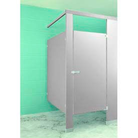 Metpar Overhead Braced Plastic Laminate Bathroom Partition Components