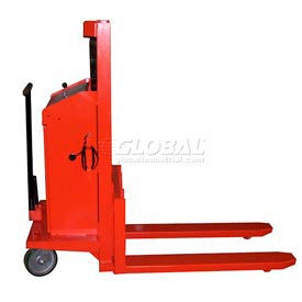Work Positioner Battery Powered Lift Stackers