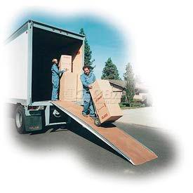 Camion en fibre de verre et rampes de marche Van
