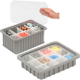Dandux Rugged Dividable Stackable Plastic Boxes