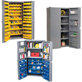 Global Industrial™16 Gauge Assembled or Unassembled Bin Cabinets