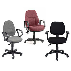 Interion® Fabric Task Chairs