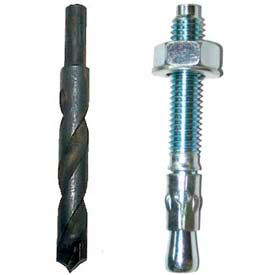 Dock Bumper Installation Bolts & Drill Bits