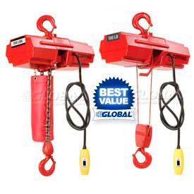 Coffing® Light-Duty Electric Power Chain or Wire Hoists