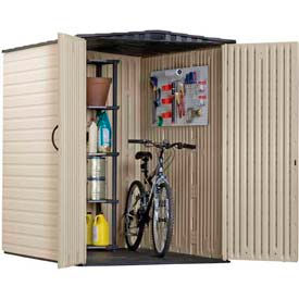 Rubbermaid Outdoor Vertical Storage Sheds