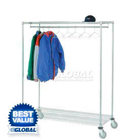 Single Rod Coat Racks