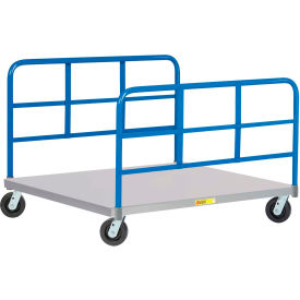 Little Giant® Pallet Dollies - Caster Style with Double End Racks