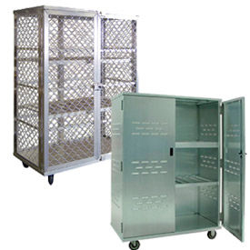 Aluminum Security Storage Trucks