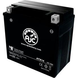 AJC® Batteries de VTT de remplacement de marque pour Honda