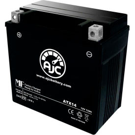 AJC® Batteries de VTT de remplacement de marque pour Suzuki