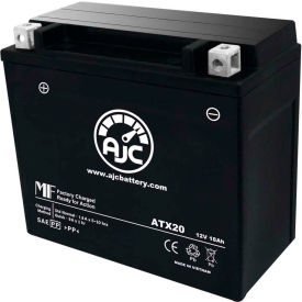 AJC® Brand Replacement Motorcycle Batteries for Buell