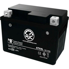 AJC® Brand Replacement Motorcycle Batteries for Puch