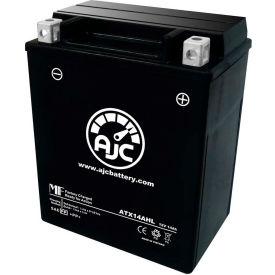 AJC® Batteries de moto de remplacement de marque pour Triumph