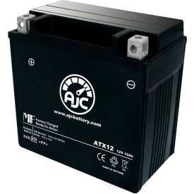 AJC® Brand Replacement Motorcycle Batteries for Vespa